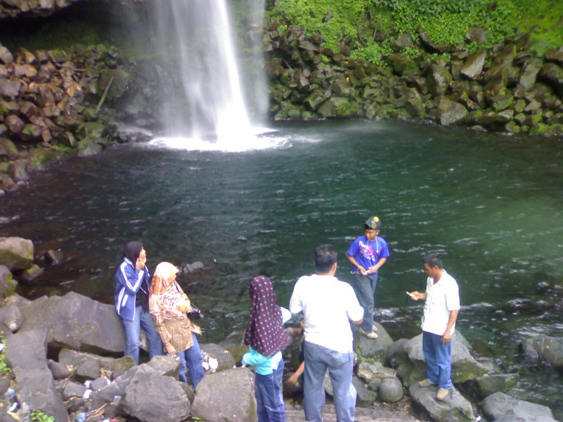 Fresh Waterfall in West Sumatra