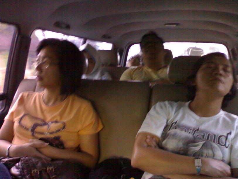 Enjoy relax in cool van