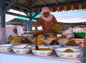 Ciri khas Nasi kapau