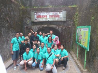 Japanese Tunnel Bukittinggi group
