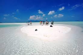 belitung pulau gosong pasir